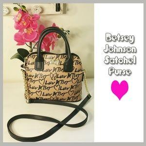NWT Betsey Johnson Satchel Purse